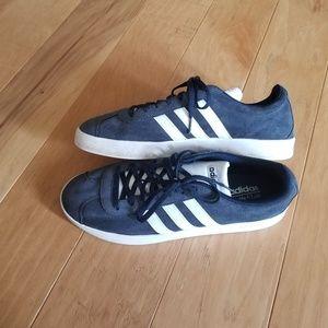Adidas Sambas Sneakers Blue and White